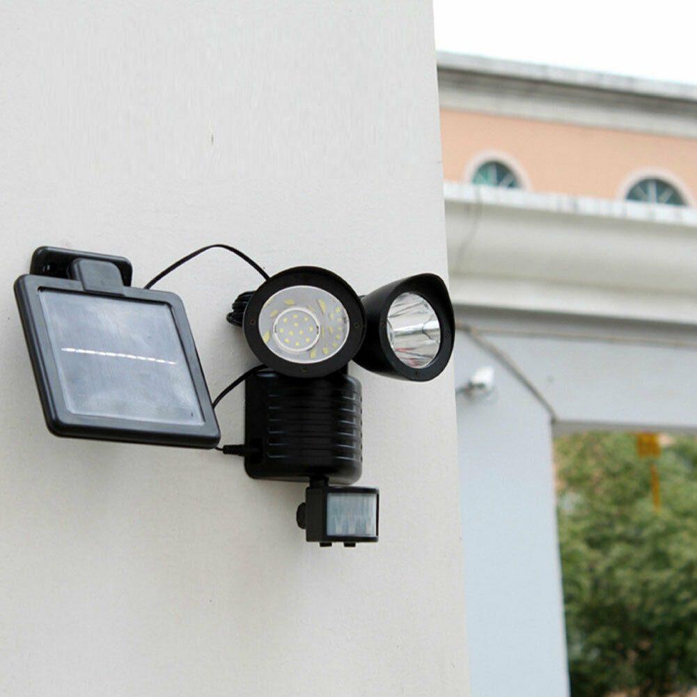 Lampara Luz Led Solar Sensor De Movimiento Para Exteriores Ilumidelta Mercadolibre